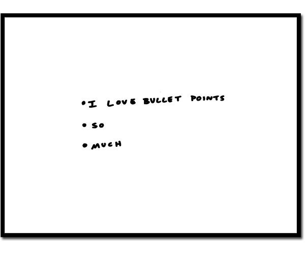 bullet-points