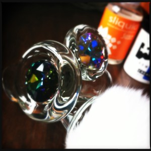 Crystal Delights Glass Plugs