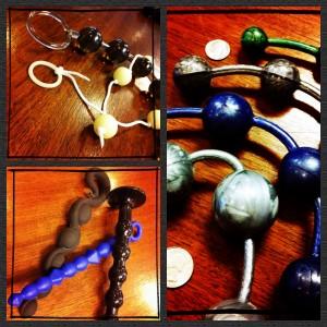 Anal beads upon anal beads