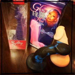 Pose-able dildos such as Vibratex Silky and New York Toy Collective Shilo