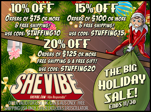 SheVibe Holiday Sale!