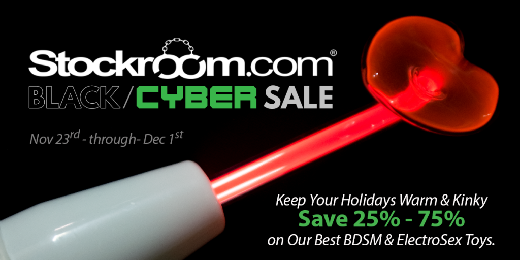 Stockroom Black Cyber Sale!